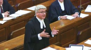 Bore-athon: The live feed from the Court of Appeal was hardly riveting viewing.
