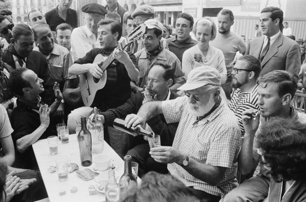 Mine's a spritzer: Papa Hemingway's boozing was not all it was cracked up to be.